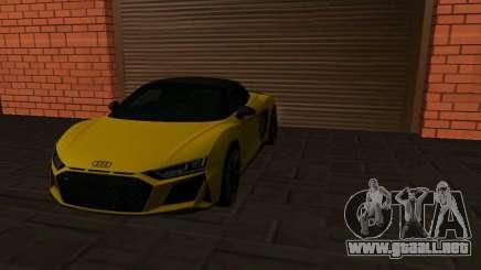 Audi R8 Spyder 2020 para GTA San Andreas