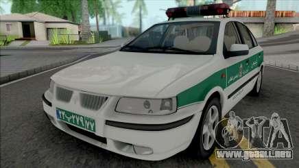 Ikco Samand Police para GTA San Andreas
