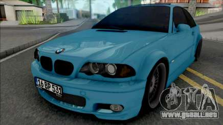 BMW 318Ci E46 Dapper para GTA San Andreas