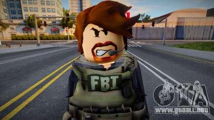 Roblox FBI V1 [Agent] para GTA San Andreas