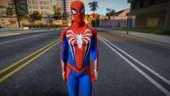 Spider-Man Advanced Suit Re-Texture para GTA San Andreas