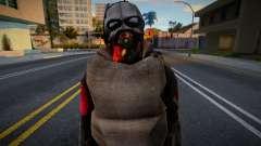 Zombie Soldier 6 para GTA San Andreas