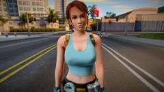 Lara Croft (Kasumi) Tomb Raider Anniversary para GTA San Andreas