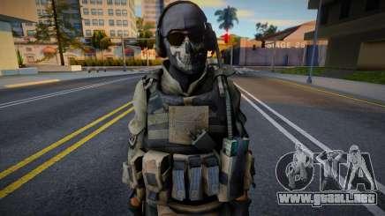 G.H.O.S.T. Ped Mod para GTA San Andreas