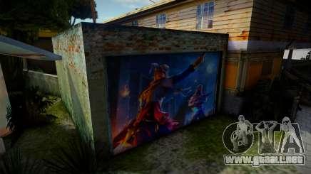 Garagem Free Fire para GTA San Andreas