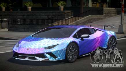 Lamborghini Huracan Qz S2 para GTA 4