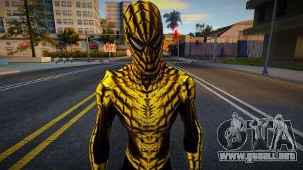 Spiderman Web Of Shadows - Gold Suit para GTA San Andreas