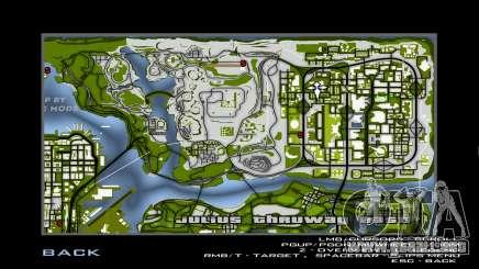 Green Gray map para GTA San Andreas
