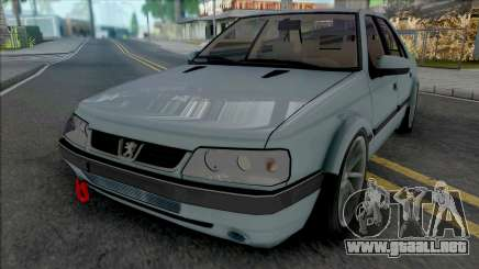 Peugeot 405 SLX Tuning para GTA San Andreas