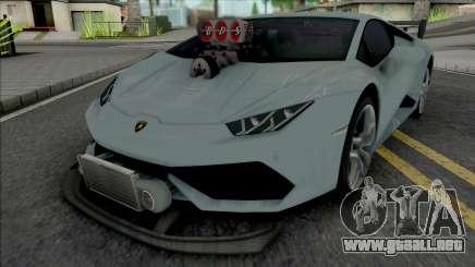 Lamborghini Huracan Tuneado para GTA San Andreas