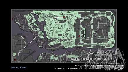 Nuevo radar y mapa para GTA San Andreas