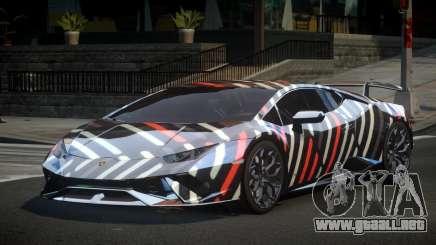 Lamborghini Huracan Qz S3 para GTA 4