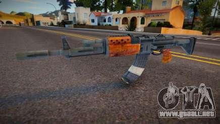 AK47 - Ammunation Surplus para GTA San Andreas