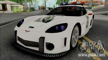 Chevrolet Corvette C6 RPD (NFS Most Wanted) para GTA San Andreas