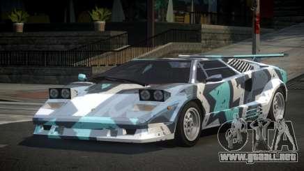 Lamborghini Countach 25th S9 para GTA 4