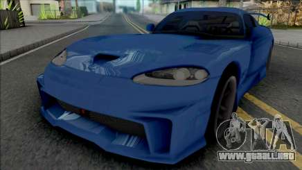 Dodge Viper GTS (MRT) para GTA San Andreas