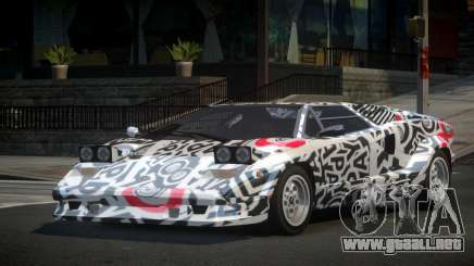 Lamborghini Countach 25th S8 para GTA 4